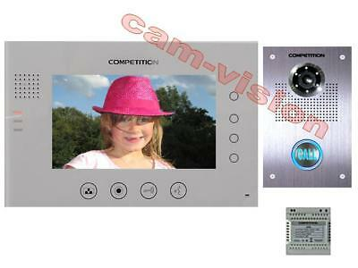 "NEU!!! Memo-funktion/400 BILDER 7"" TOUCHSCREEN MONITOR VIDEO TÜRSPRECHANLAGE"