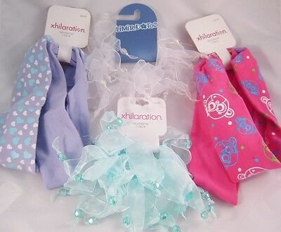 Lot OF 4 New Girls Hair Accessories  From Target & Limited Too
