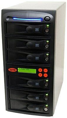 1-5 SATA Hard Disk Drive (HDD/SSD) Duplicator/Sanitizer - High Speed(150MB/sec)