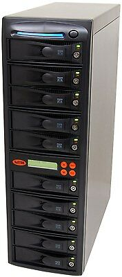 1-9 SATA Hard Disk Drive (HDD/SSD) Duplicator/Sanitizer - High Speed(150MB/sec)