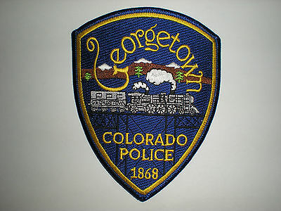 Georgetown, Colorado Police Department Patch