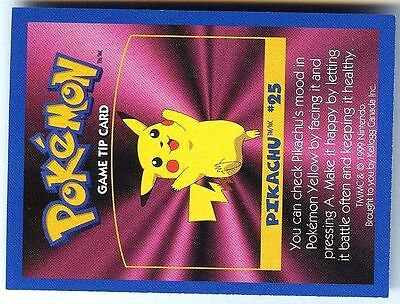 Promo Pokemon Fr/English Kellog Bilingual Card 1 By Side #25 Pikachu