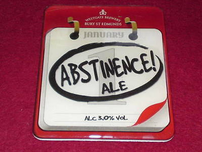Beer Pump Clip - Abstinence Ale