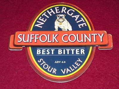 Beer Pump Clip - Nethergate Suffolk County #2