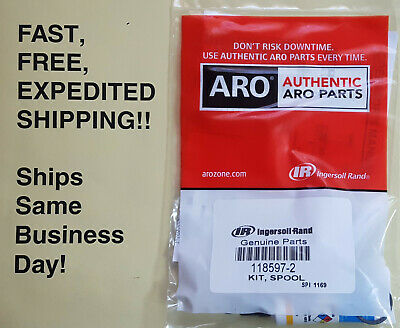 ARO 118597-2 RK - FREE Expedited Shipping! NEW: Now Includes Parker O-Lube Tube!