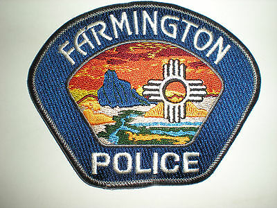 Farmington, New Mexico Police Department Patch