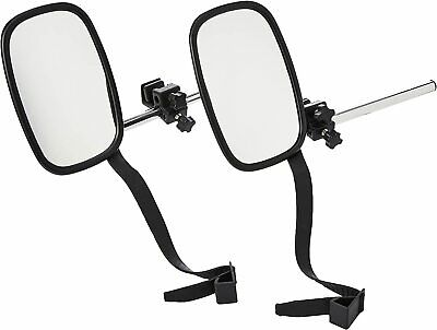 2 x Towing & Caravan Vehicle Extending Wing Mirror Extension Extending Mirrors
