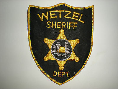 Wetzel, West Virginia Sheriff's Department Patch