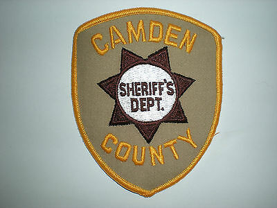 Camden County, New Jersey Sheriff's Department Patch