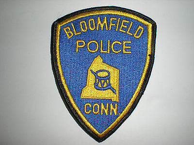 Bloomfield, Connecticut Police Department Patch