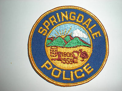 Springdale, Ohio Police Department Patch