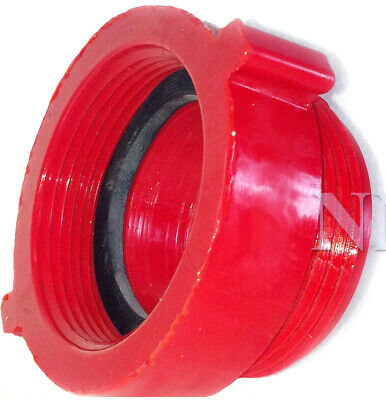 "FIRE HOSE/HYDRANT ADAPTER  1-1/2"" Female NPSH x 1-1/2"" Male NST Polycarbonate"