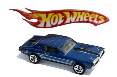 2012 Hot Wheels #119 Muscle Mania Ford 1968 Mercury Cougar