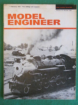 MODEL ENGINEER - 1 Feb 1965 vol 131 # 3266