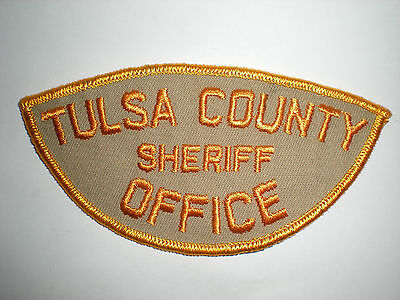 Tulsa County, Oklahoma Sheriff's Office Patch