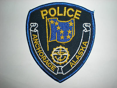 Anchorage, Alaska Police Department Patch