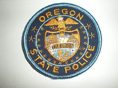 Oregon State Police Patch- Small