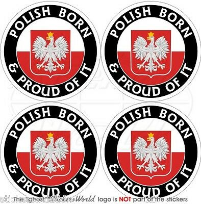 "2/"" CUBA Cuban Born /& Proud 50mm Decals x4 Vinyl Bumper-Helmet Stickers"