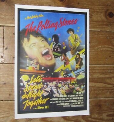 The Rolling Stones Lets Spend the Night Together Repro POSTER