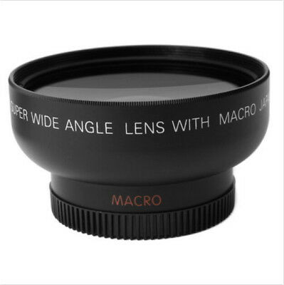 43mm 0.45x Wide Angle Lens & Macro Conversion Lens 0.45x 43 + Gift