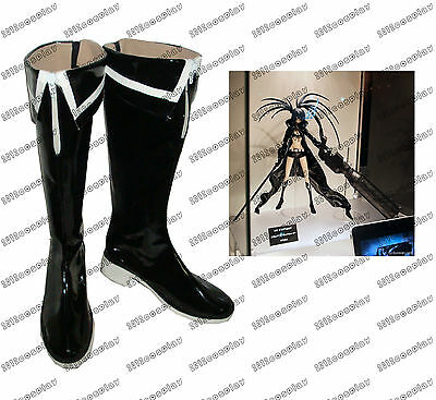 Vocaloid Black Rock Shooter Cosplay Boots Custom-Made