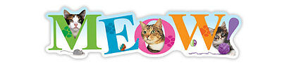 Meow! (Cat) Car Magnet  ***quality***