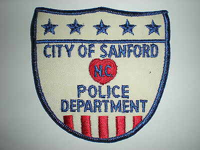 Sanford, North Carolina Police Department Patch