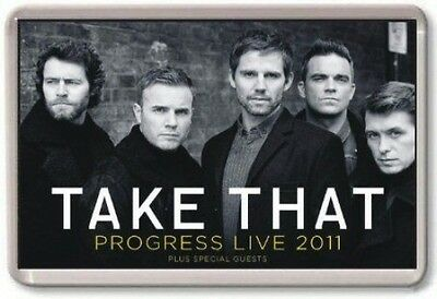 Take That Progress Tour Fridge Magnet