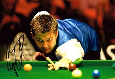 Ryan Day HAND SIGNED Autograph 12x8 Photo AFTAL COA Snooker Crucible Sheffield
