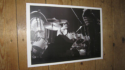 Keith Moon The Who Great New BW POSTER
