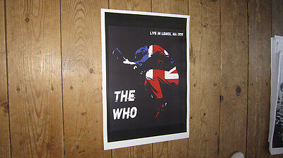 Roger Daltrey The Who Live in Lenox Repro POSTER