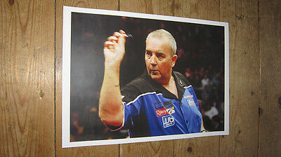 Phil The Power Darts Legend POSTER Blue