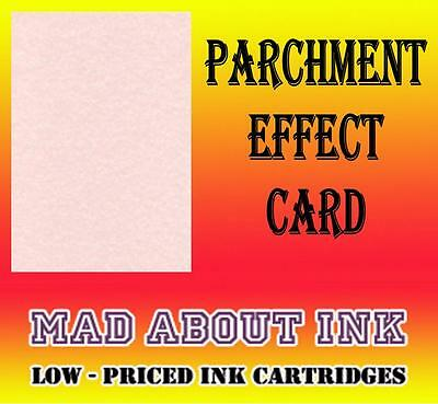 Pink Parchment Effect Card For Craft & Inkjet Printers 40 Sheets A4 150gsm