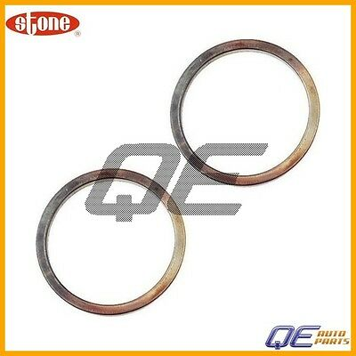 2 Acura Integra Honda Accord Exhaust Pipe Flange Gasket Stone 18212SB2961