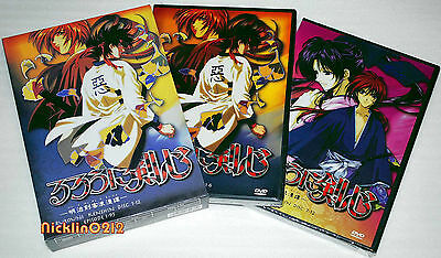 RUROUNI KENSHIN Complete DVD TV Series Collection BOX SET English dub NEW in USA