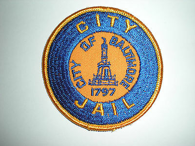 Baltimore, Maryland City Jail Patch - Small