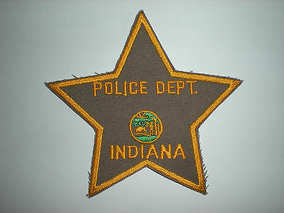 Blank Indiana Police Department  Patch