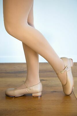 Tan Tap Shoes - New - Premium  Leather  - Child Sizes Thru to Adult Sizes