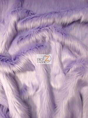 BY YARD COSTUMES EcoShag™ Royal Blue SOLID SHAGGY FAUX FUR LONG PILE FABRIC