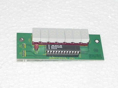 Alphanumeric  Segmented Display Board With 7 Chips