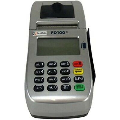 First Data FD100Ti IP/Dial Machine: Just $65 + free shipping + 1yr Warranty