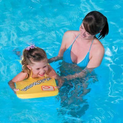 "17""x12"" Swimming Float Swim Safe Kick Board (Ages 4+)"