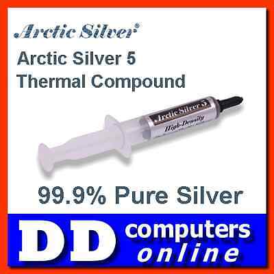 Arctic Silver 5 Thermal Compound 12g Cooling Paste for CPU, Chipsets, VGA etc.