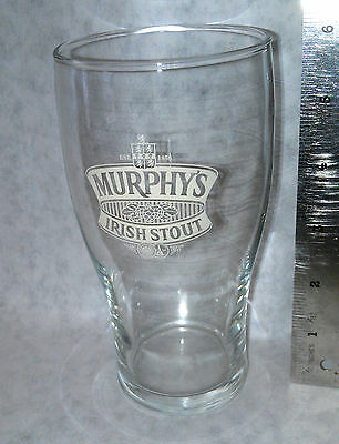 Murphy's Irish Stout Beer Glass Collectible New Vintage