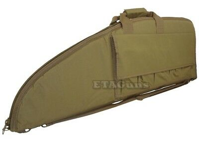"NcSTAR 42"" Tan Police SWAT Hunting Tactical Rifle Gun Carrying Bag Case Pouch"