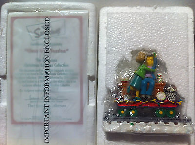 Simpsons Hamilton Sculpture Class Is In Session Christmas Train Very Rare Figure