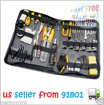 100 Piece Computer Technician Tool Kit for Repairing, Wiring SY-ACC65053