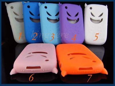 New Devil Soft Skin Case for Blackberry Curve 8520 8530 Hot