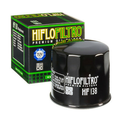 Oil Filter HiFlo HF138 for Suzuki GSF1250 SA-K7,K8,K9,L0,L1,L2 Bandit 07-12