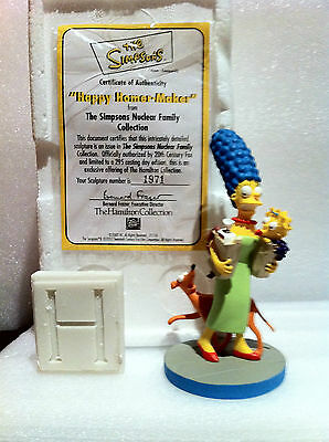 Simpsons Hamilton Sculpture Happy Homer Maker Very Rare Limited Edition Figure